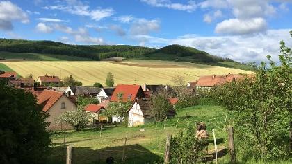 Blick über Beutnitz