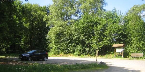 Parkfläche am Wanderparkplatz