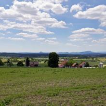 Ausblick zu den Hegaubergen