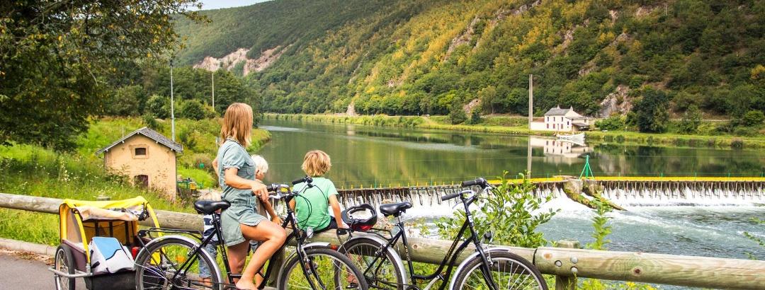 Circuit vélo à Charleville-Mezières dans les Ardennes