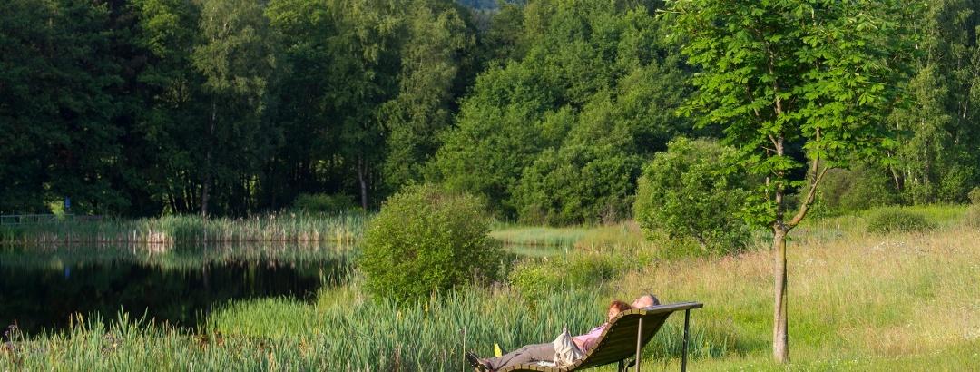 Entspannen am Allenbacher Weiher