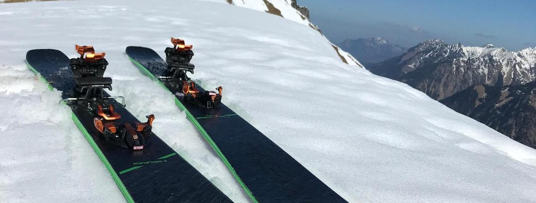 Esqui de travesia al Schmalhorn