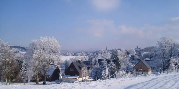 Schellerhau im Winter