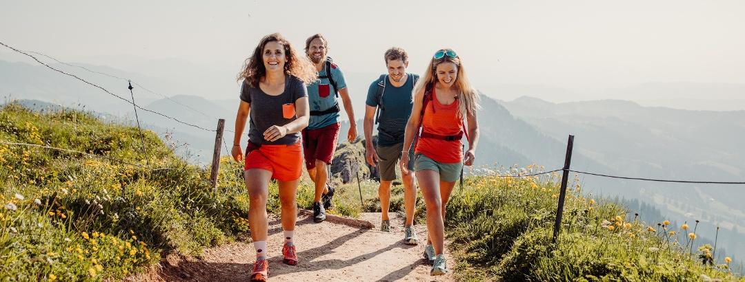 Retkeilemässä Oberstaufenissa