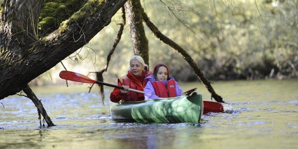 Kanu auf der Rur