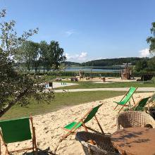 Strandcafé im Freizeit- und Erlebnisgarten