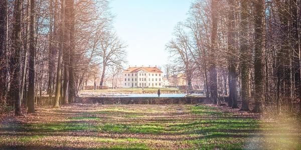 Palais im Barockgarten Zabeltitz