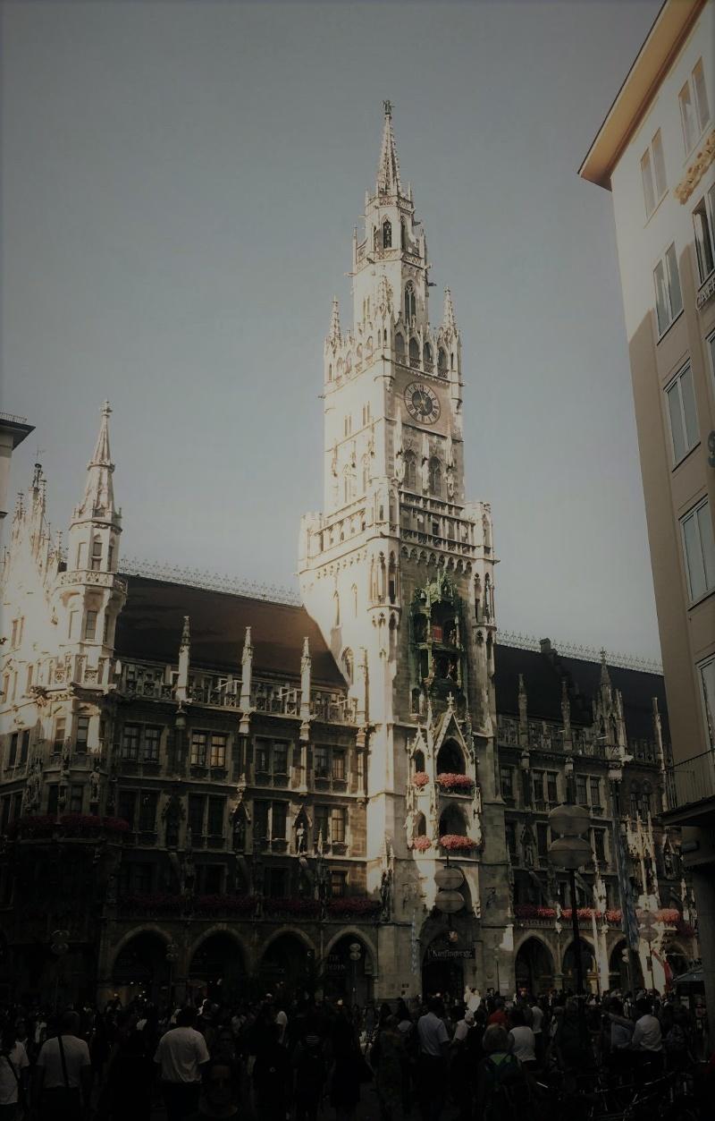 Das Neue Münchner Rathaus in der Altstadt