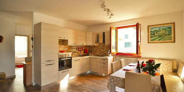 Appartamento Sergio Creazzi - cucina