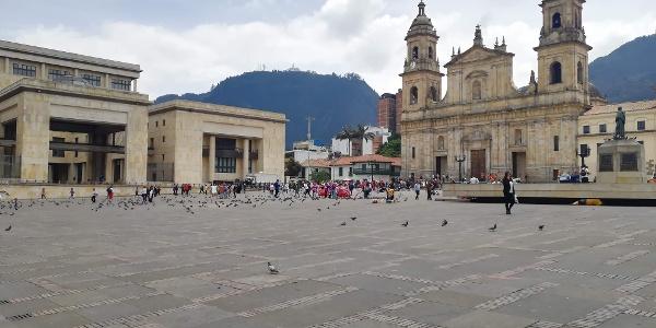 Starting Point - Plaza de Bolivar
