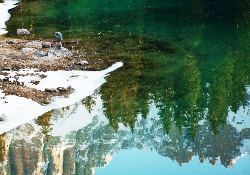 Die Nixe im Karer See