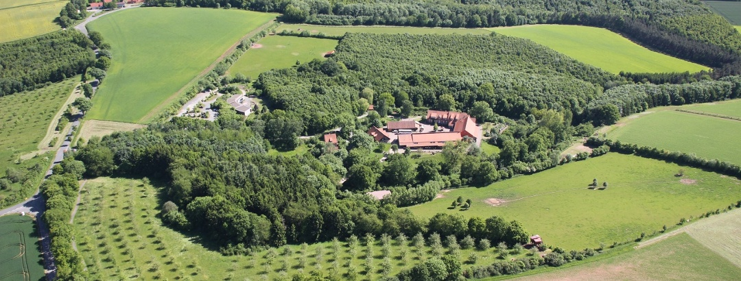 Natur-Erlebniszentrum Gut Herbigshagen - Ansicht von oben