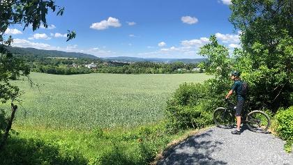 Blick auf Saalfeld