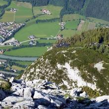 Hochkogelsteig - Blick ins Salzachtal