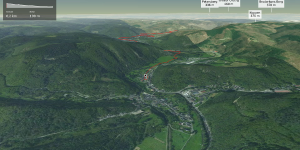 Radtour im Ahrtal: Rad 01 Ahrbrück-Remagen