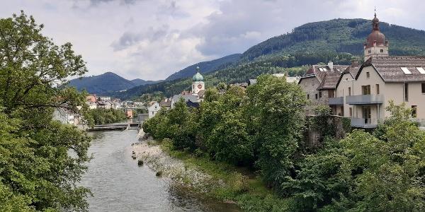 Ausblick auf Waidhofen