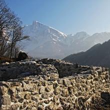 Krn mountain from Tonocov grad