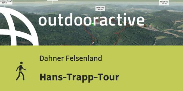 Wanderung im Dahner Felsenland: Hans-Trapp-Tour
