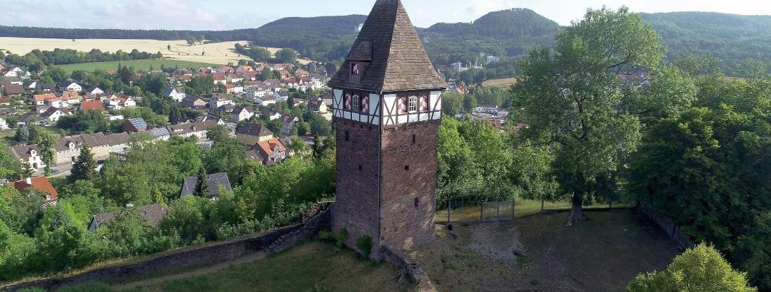 Luftaufnahme Försterbergturm