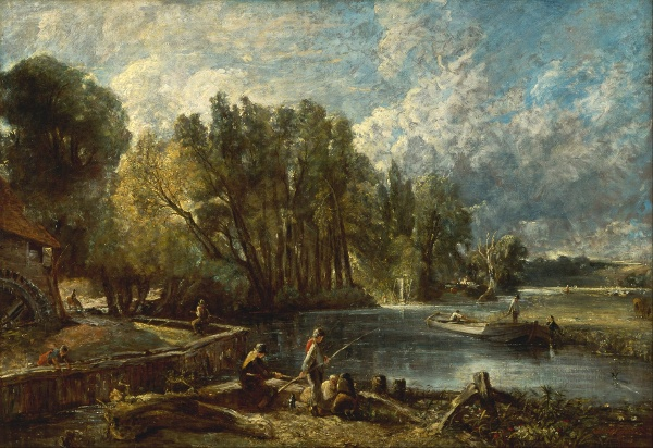 The Young Waltonians - John Constable
