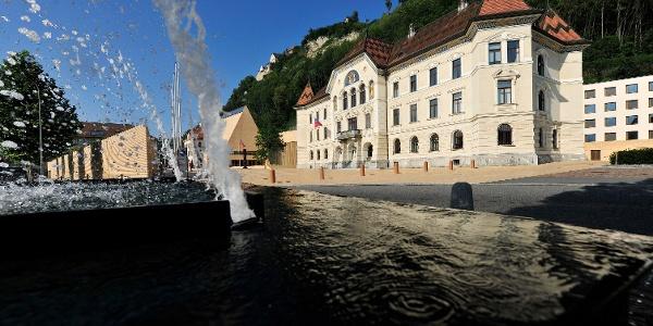Regierungsviertel Vaduz