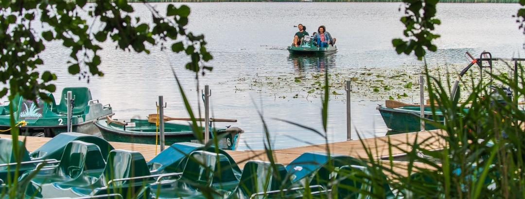 Bootfahren auf dem Seeburger See