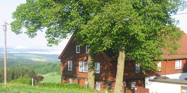 Außenansicht Vogtlandhof Hohe Reuth
