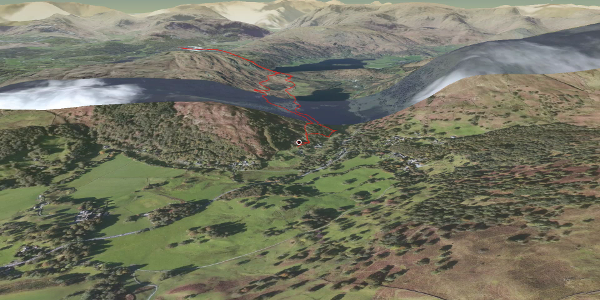 hike in South Lakeland: Loughrigg & Rydal Cave