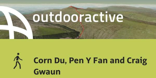 hike in Powys: Corn Du, Pen Y Fan and Craig Gwaun