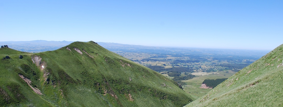 Massif Central in the Auvergne