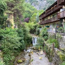 Torrente Albona in San Giacomo (near Foci)