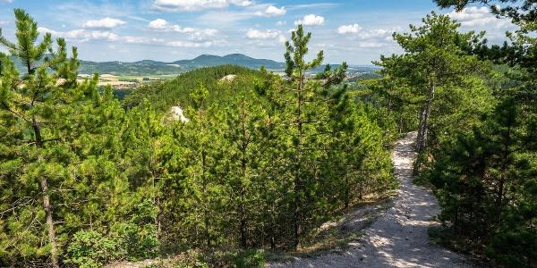 A Zajnát-hegyek páratlan ösvénye, szemközt a Kevélyek