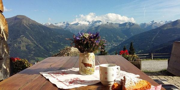 Biberalm 1735 hoogte met lekker eten