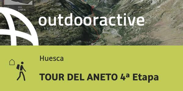 ruta senderista de larga distancia en Huesca: TOUR DEL ANETO 4ª Etapa