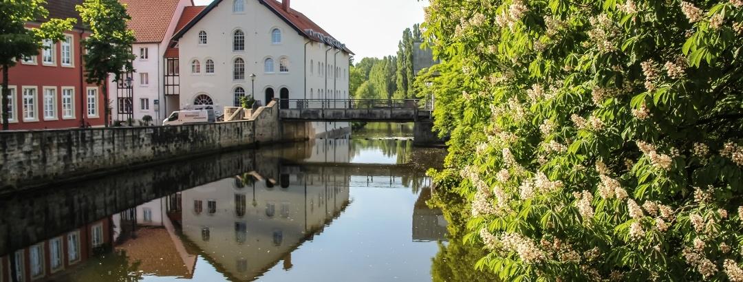 Ems-Brücke in Warendorf