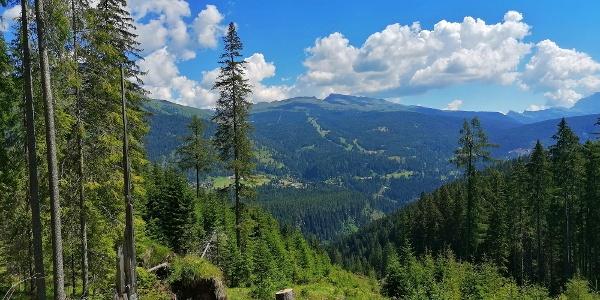 Panorama auf Bellamonte