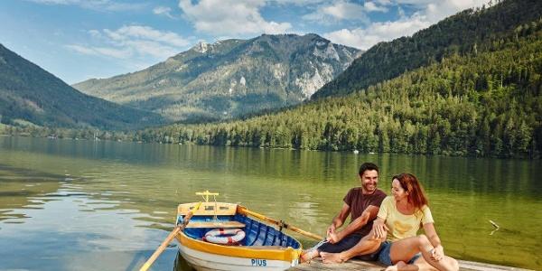 Herrliche Aussicht am Lunzer See