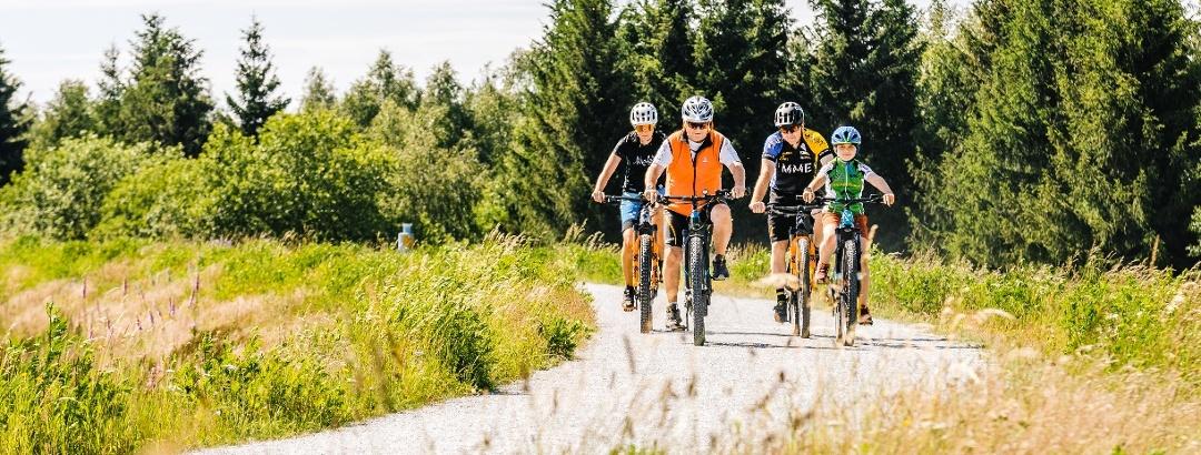 Biken in der Urlaubsregion Altenberg