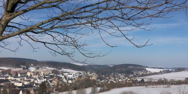 Winterlandschaft Ehrenfriederdorf