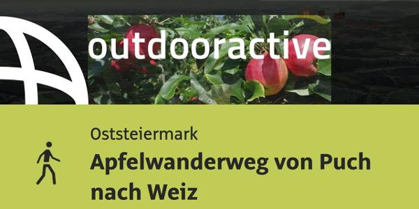 Wanderung in der Oststeiermark: Apfelwanderweg von Puch nach Weiz