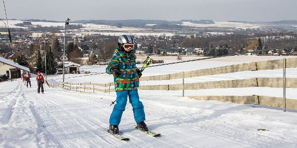 Skilift Ziegenberg in Zwönitz