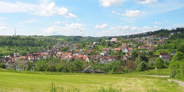 Auf dem Haiterbacher Kuckucksweg