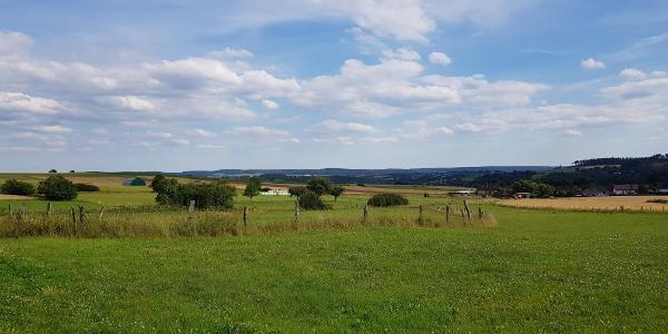 Panorama nähe Frankenberg / Schreufa