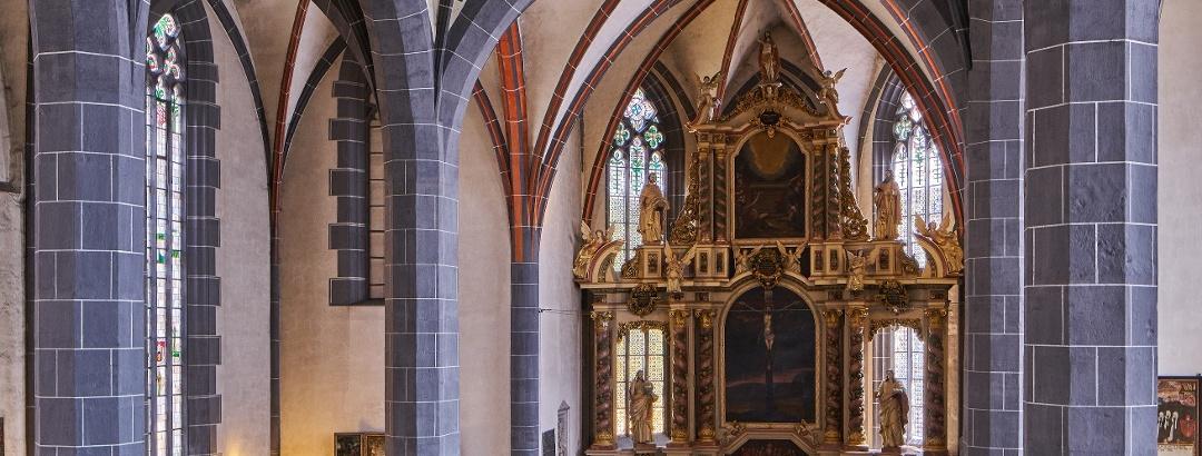 St. Blasius Kirche in Hann. Münden- Innenansicht