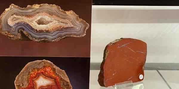 Exponate din colecția Muzeului Mineral Toda