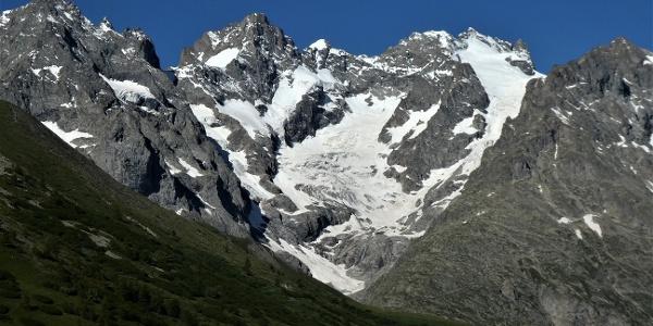 Die Ostflanke der Meije (3860 m)