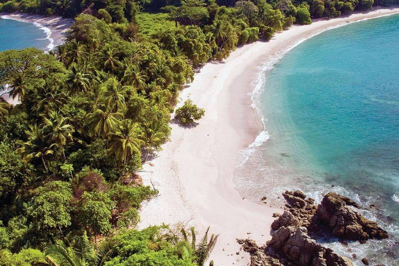 Manuel Antonio Nationalpark nördlich von Dominical