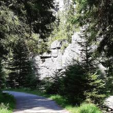 Teufelsmauer vor Nonnenfelsen