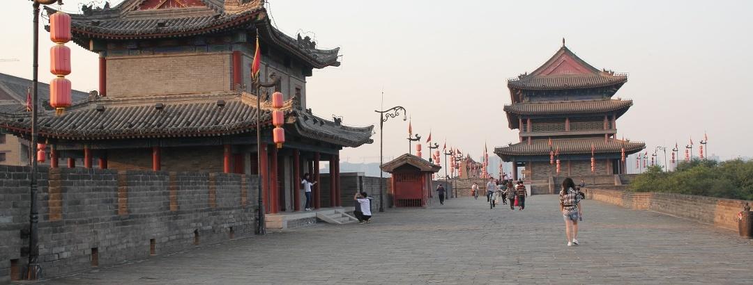 陕西省 西安 西安城墙上