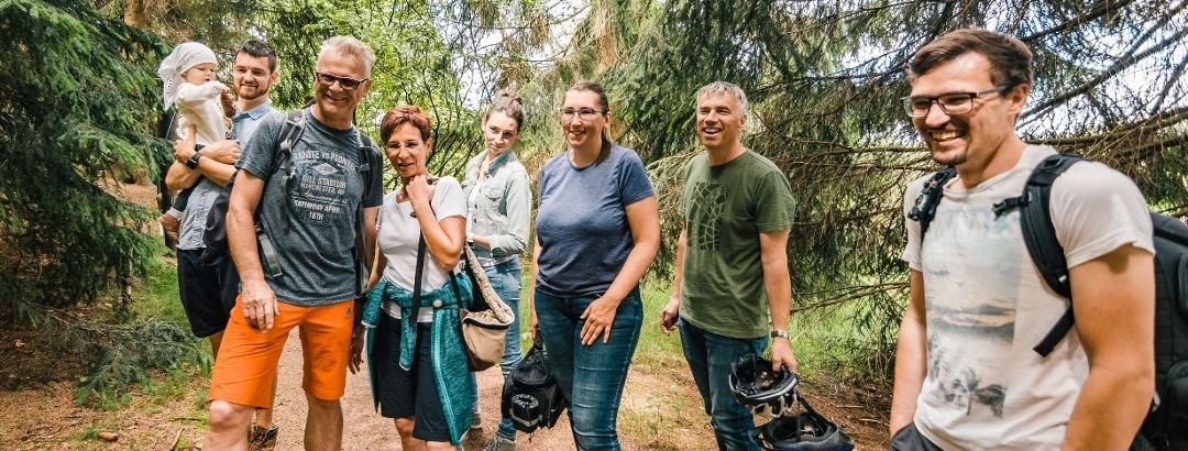 Führung im Botanischen Garten in Schellerhau